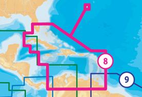 Navionics Electronic Charts for Cuba