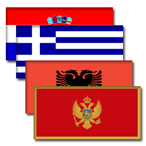 East Med Flags