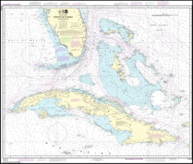 OGW 11013 Straits Of Florida And Approaches